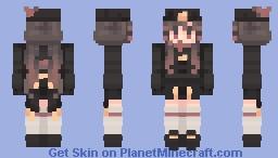 Hu Tao Minecraft Skin