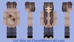 ღ 𝒜𝑒𝓈𝓉𝒽𝑒𝓉𝒾𝒸 𝒮𝓊𝓃𝒻𝓁𝑜𝓌𝑒𝓇 𝒢𝒾𝓇𝓁 ღ Minecraft Skin
