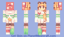 mushrooms and foxes - series | ce Minecraft Skin