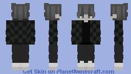 Tanjiro Robe Ghost Minecraft Skin