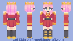 See me in a Crown Minecraft Skin