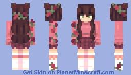 𝙃𝙖𝙣𝙣𝙖𝙝𝙭𝙭𝙧𝙤𝙨𝙚 /+ speedpaint Minecraft Skin