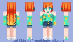 🦊 Audie || ACNH 🦊 Minecraft Skin