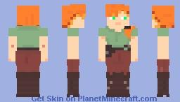 Alex (Rube Version) Minecraft Skin