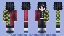 Giyuu Tomioka | Demon Slayer Minecraft Skin
