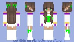 Galactic Zuv'ah Babydoll56 Minecraft Skin