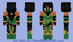 Jade (Mortal Kombat) Minecraft Skin