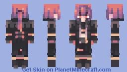 Diluc Minecraft Skin
