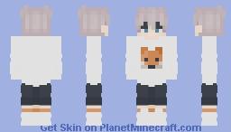 Fox Boy Minecraft Skin