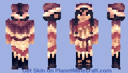 Mongolian Woman Minecraft Skin