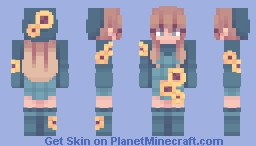 i can't remember if i already have a skin titled sunflower Minecraft Skin