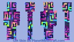回 [𝙱𝚒] 𝙱𝚒𝚜𝚖𝚞𝚝𝚑 𝚗𝚘.𝟾𝟹 Minecraft Skin