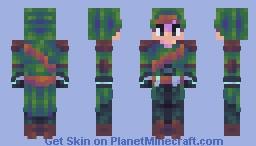 ℂ𝕝𝕠𝕒𝕜 -~ℝ𝕢~- Minecraft Skin