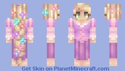 Rapunzel Minecraft Skin