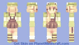 frogs and limes - series Minecraft Skin
