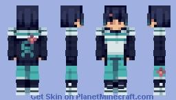 Tourettes Awareness Month ! Minecraft Skin