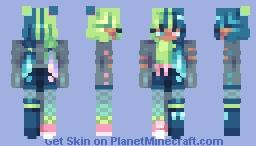 glow ;; rce Minecraft Skin