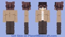 fukushima in da brown coat B) Minecraft Skin