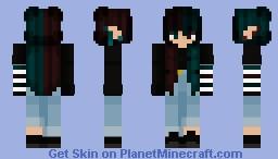 Warped Wanderer Minecraft Skin