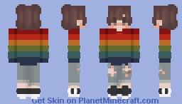 ❤️ 𝐏 𝐑 𝐈 𝐃 𝐄 ❤️ Minecraft Skin