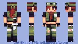 Mirai - Skin Fight 2021 Minecraft Skin