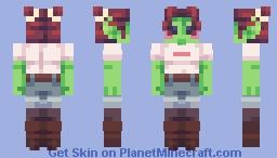 Attack!! - Auri Minecraft Skin