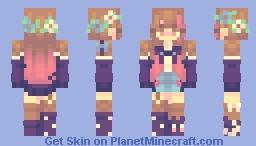 sf 5/ kai 🌸 Minecraft Skin