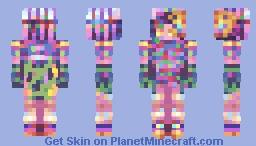 leave me alone - skin fight! Minecraft Skin