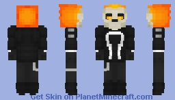 Ghost Rider   Marvel Comics Minecraft Skin