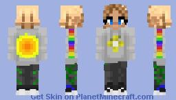 summer girl Minecraft Skin