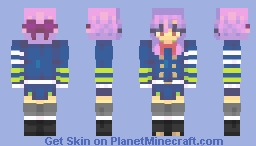 shinoa hīragi Minecraft Skin