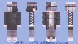 Black and white :) Minecraft Skin