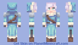 Jacob the Ice Magician (SF) Minecraft Skin