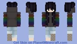 Raven Minecraft Skin