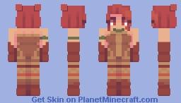 tiger stance (skin fight) Minecraft Skin