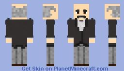 Alfred Pennyworth Minecraft Skin