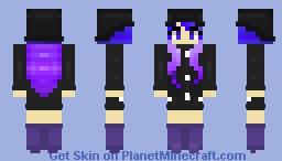 𝑅𝒶𝒾𝓃(𝒸𝑜𝒶𝓉)𝒾𝒾𝓊𝓂 (Popular Reel! 🌙) Minecraft Skin