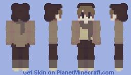 all bundled up for autumn Minecraft Skin