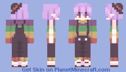 potted plants or iron-wiitch (skin fight) Minecraft Skin