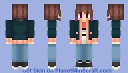Drew - Pokémon Original Character Minecraft Skin