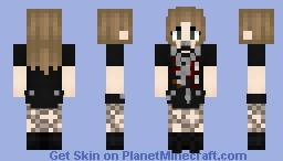 A distressed princess Minecraft Skin