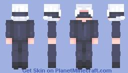 Gojo Minecraft Skin
