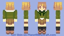 chihiro fujisaki Minecraft Skin