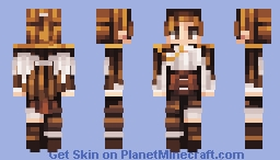 Dirty blond? nonono, it's more of a golden brown!! Minecraft Skin