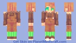 AlderBee/Leaf ~ sf friendly fire Friday Minecraft Skin