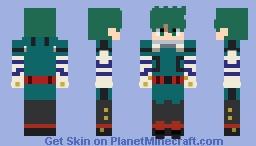 Izuku Midoriya (Deku) Minecraft Skin