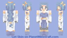 flowing water 🌊-sf Minecraft Skin