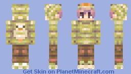 Duck King (Attack against MarshmallowDuck) Minecraft Skin