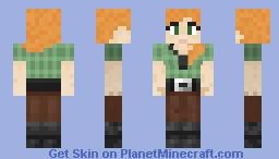 Alex / Retexturized / remade Minecraft Skin