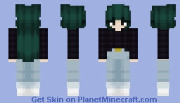 Purple Plaid Minecraft Skin